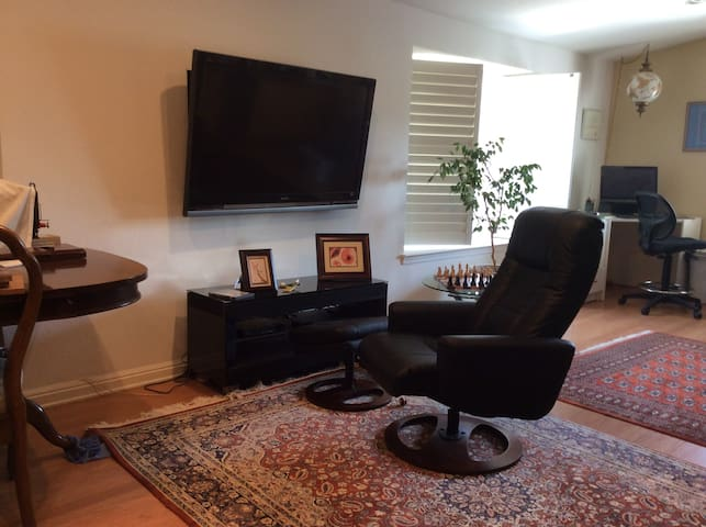 Private room in luxurious home, ideal for execs. - San Jose - Hus