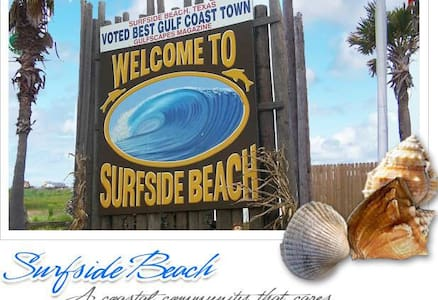 Fun in the Sun Cozy Beach Cottage  with Gulf Views - Surfside  - Casa