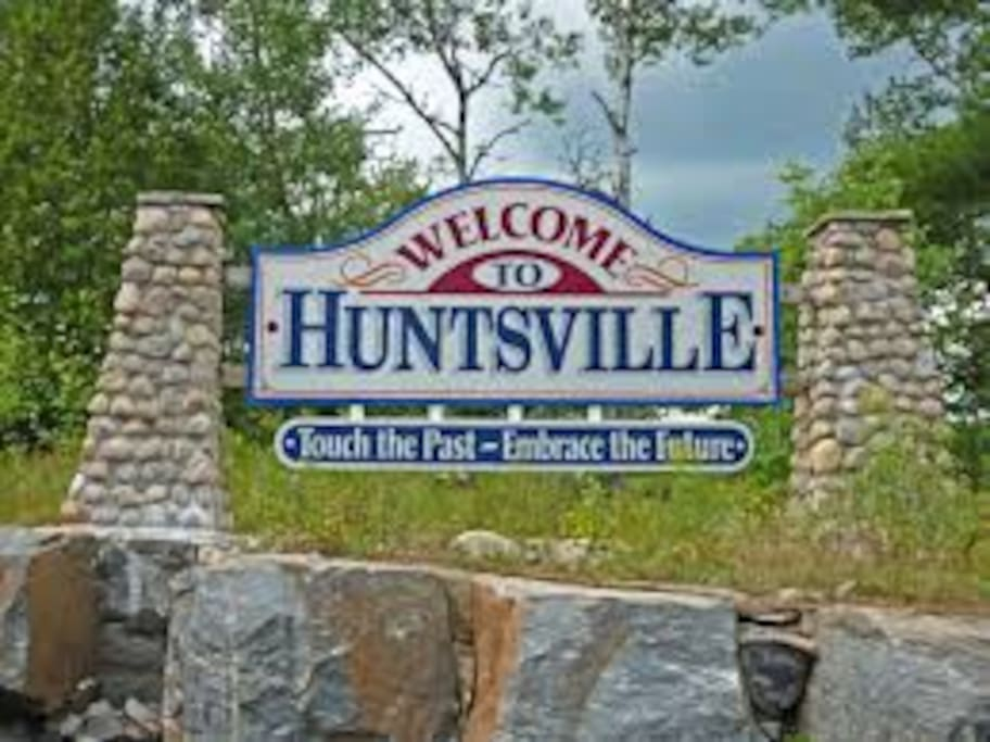 Welcome to Huntsville ..