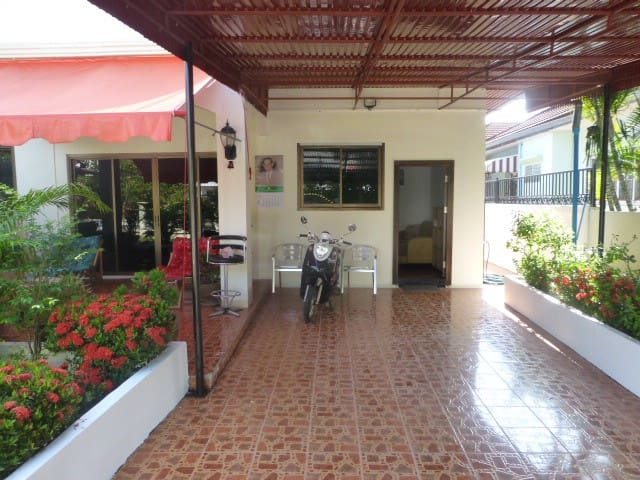 1  double Bedroom  Villa price includes motorbike