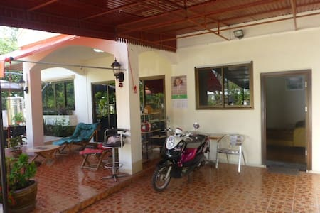 1  double Bedroom with  living room Villa  Kitchen - Udon Thani - วิลล่า