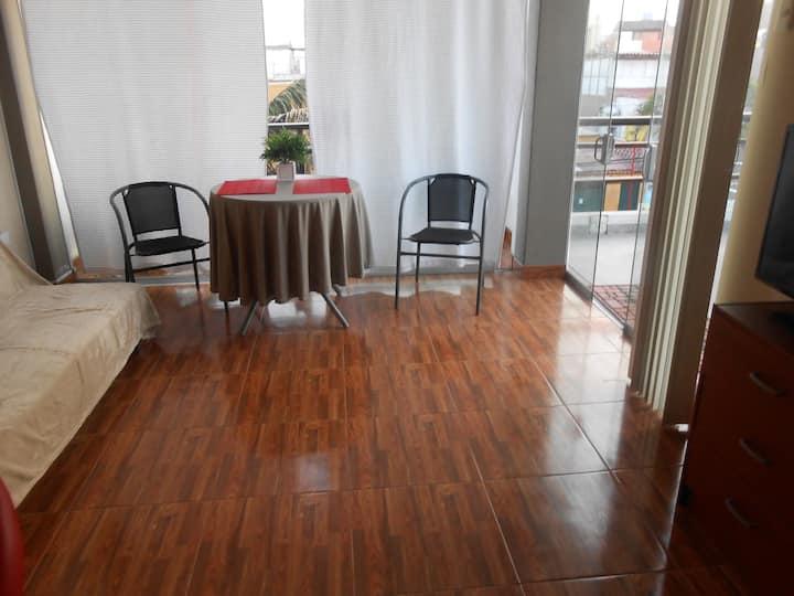 Dptos amoblados HUANCHACO 3r piso adelante
