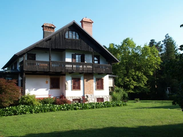 Historic Garden Villa in Slovenia