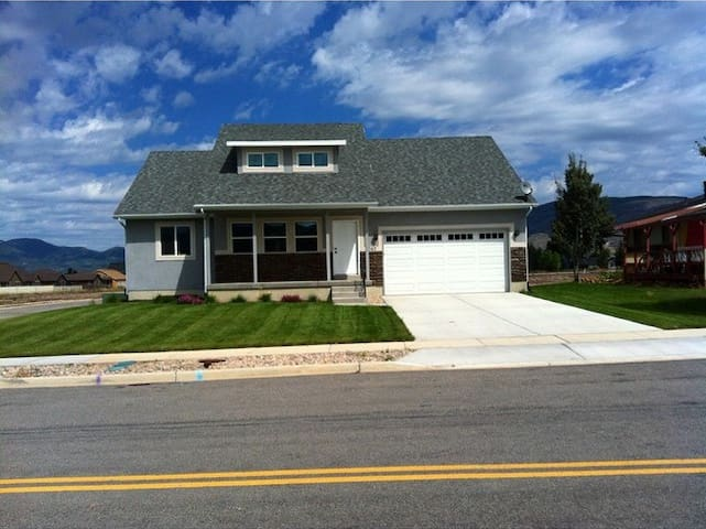 3000 square feet of cozy new home. - Heber City - Hus