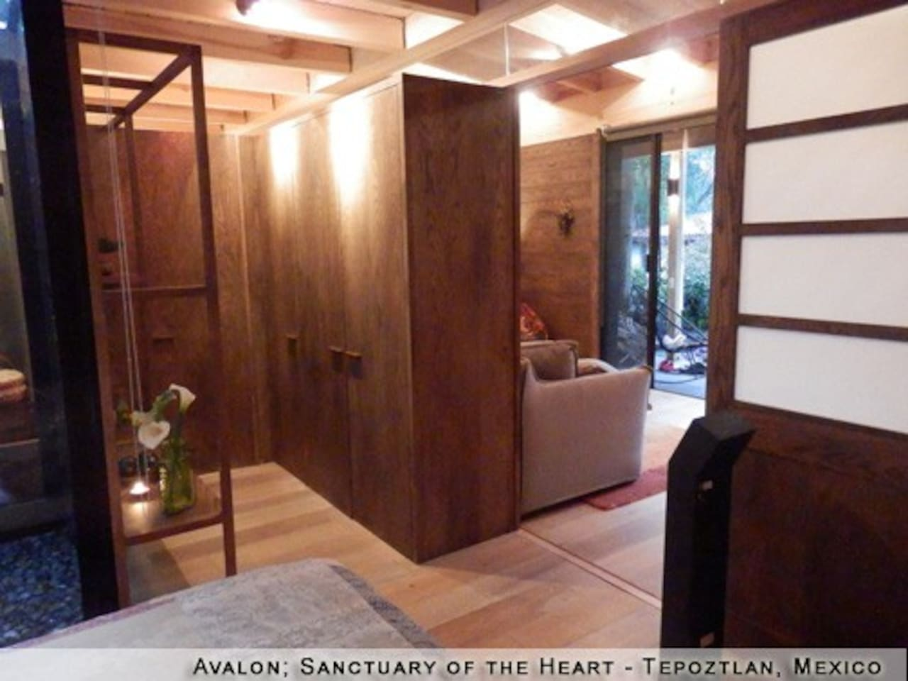 Santuario Avalon: Satori House - Bungalows for Rent in Tepoztlán ...