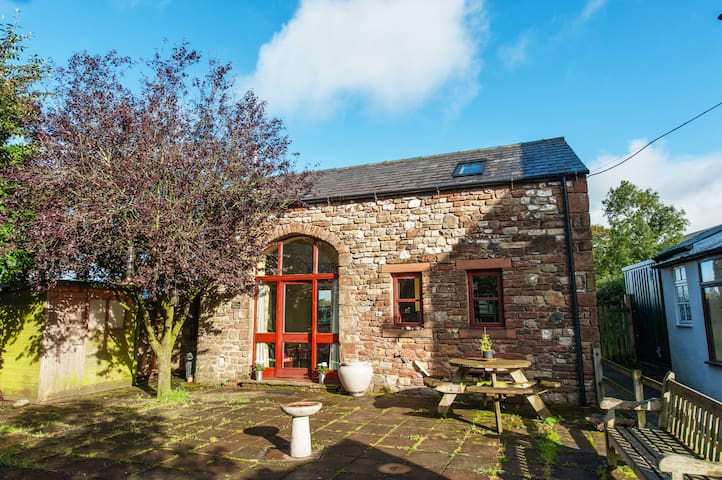 Tranquil barn in fellside village - Appleby in Westmorland - Huis