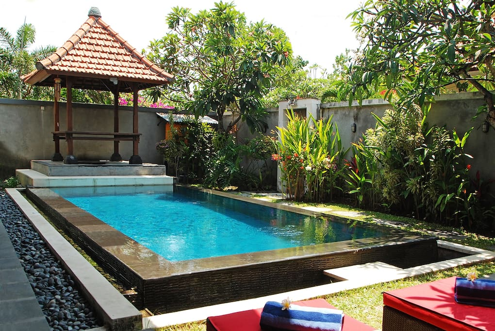 Private 8 mtr pool