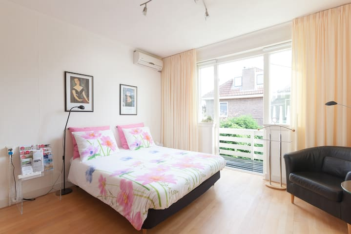 Zonnige kamer dichtbij de IJssel en Stadscentrum - Deventer - Maison