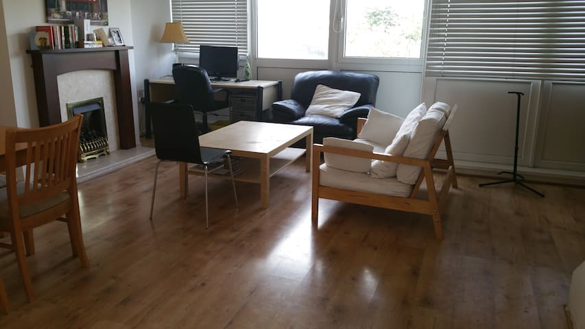 Double bedroom in a spacious flat - Hebburn - Lägenhet