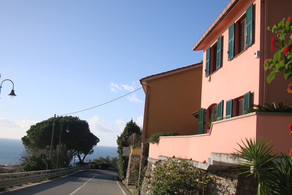 The house and its location