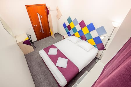 Room in the center with private WC - Riga