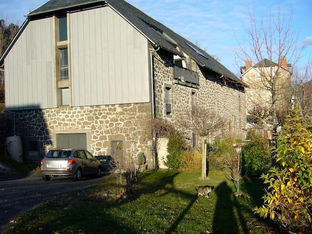 loft 75 m2 dans grange rénovée 3* - Vic-sur-Cère - Loft