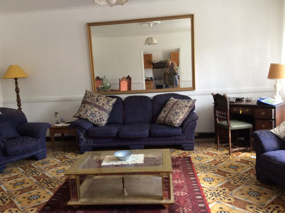This the living room which looks on to the garden