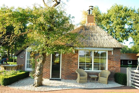 Cozy farm house, beautiful views! - Noordwolde - Rumah