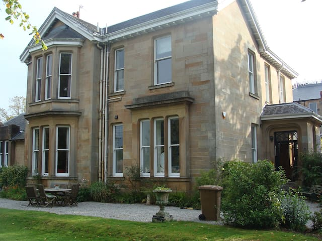 Victorian house close to city. - Glasgow - Casa