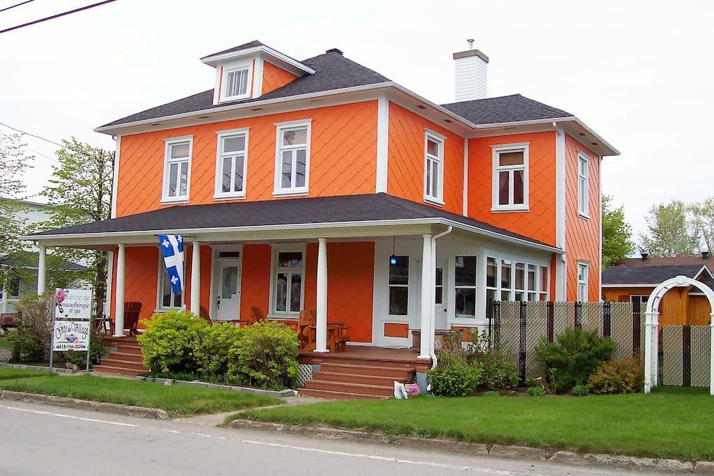 Gite Du Village 3 Chambres D 39 H Tes Louer Sainte Luce Qu Bec Canada