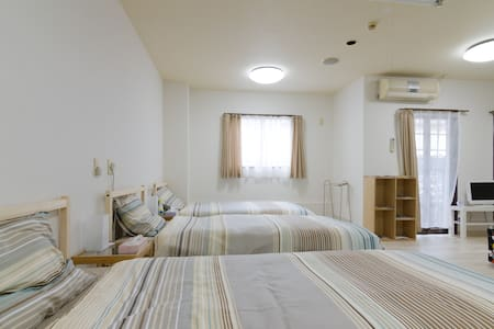 KUROMON Nippombashi 難波. Free wifi - Tennoji-ku Ōsaka-shi - Wohnung