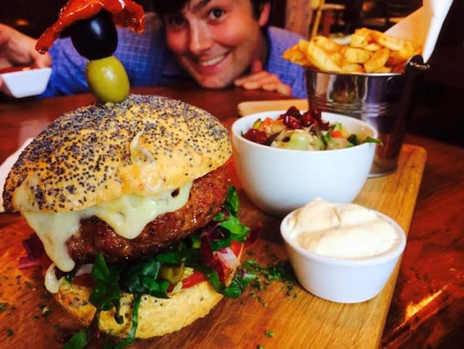 Lamb Burger - 2015 - Voted in the top 20 burgers in Ireland