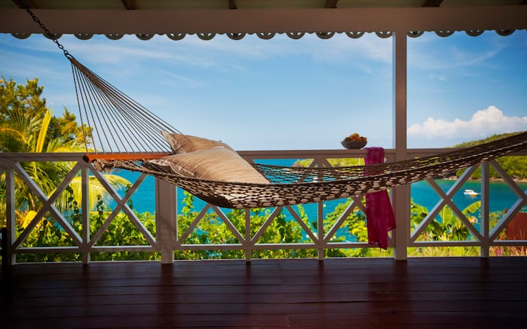 Ti Kaye private Ocean View Cottage - Anse Cochon - Bed & Breakfast