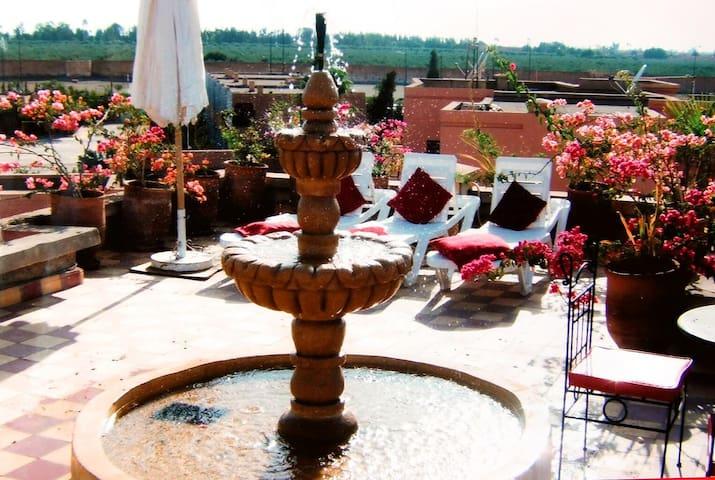 Chambre d'hôte, a Marrakech, Wifi, - Marrakesh - Huis