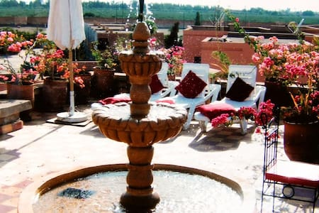 Chambre d'hôte, a Marrakech, Wifi, - Marrakech - Hus
