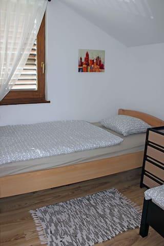 Bedroom #3 for kids, first floor