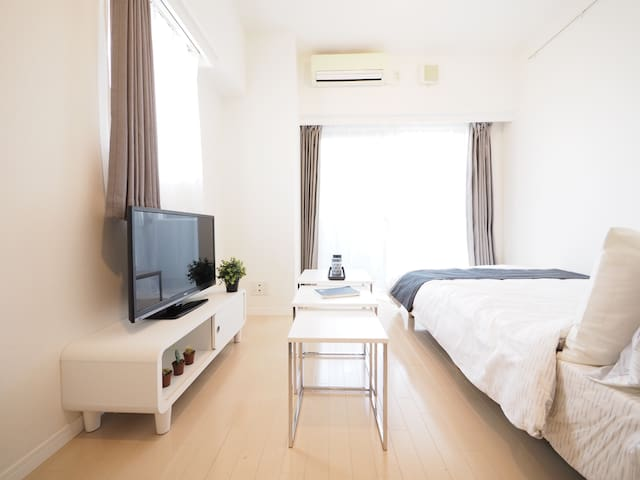 Shinjuku Luxury Studio +Mobile WiFi - Shinjuku-ku - Apartment