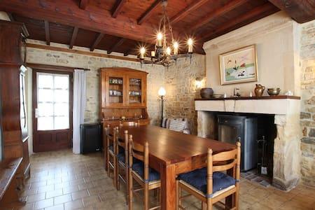 Große Wohnung mit Garten, strandnah - Colleville-sur-Mer