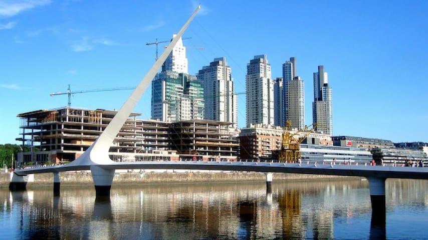 Puerto Madero Amazing 3BR 2BA Apt. - Buenos Aires - Departamento