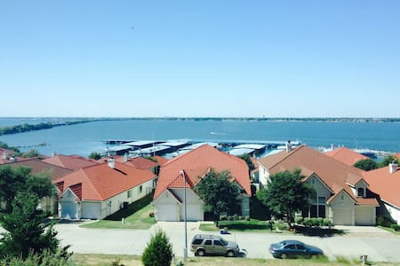 Medditeranean Lake View Retreat - Rockwall