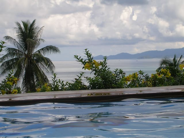 FABULOUS APARTMENT OVERLOOKING THE GULF OF SIAM - Ko Samui - Daire