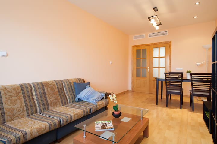 ROOM DOUBLE -MURCIA -VINO, PLAYAS Y SOL- CLEOPATRA - Murcia - Appartement