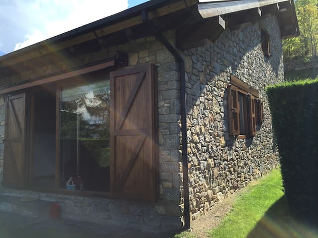Typical house in La Cerdanya