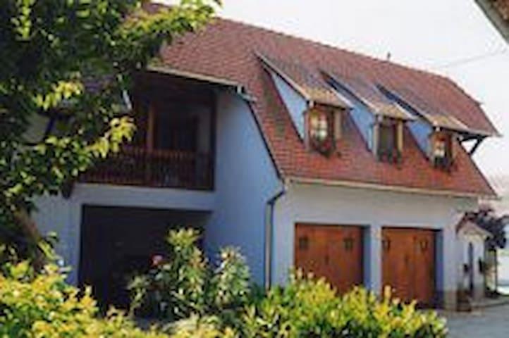EPFIG 3 pers ,  30km nord Colmar - Epfig - Casa