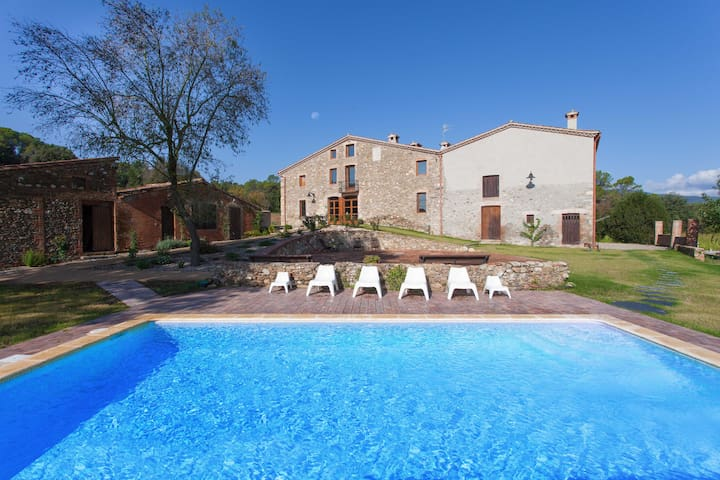 Old farmhouse renovated with charm - Santa Maria de Palautordera - Huis