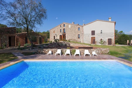 Old farmhouse renovated with charm - Santa Maria de Palautordera - Ev