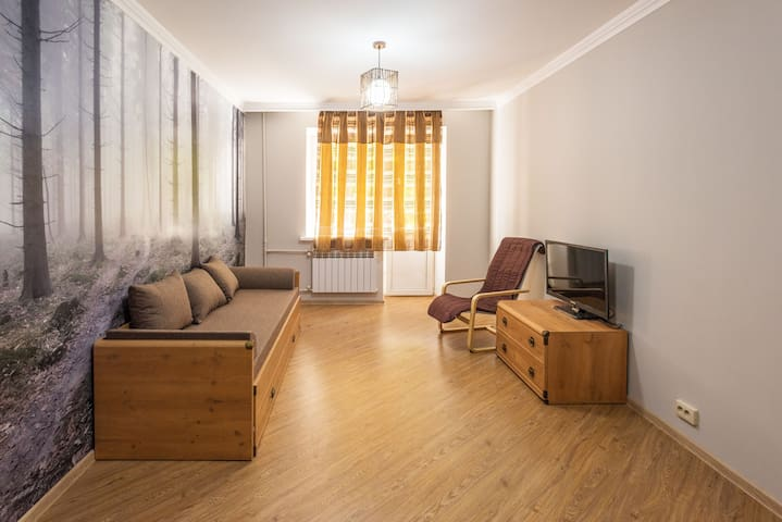 Cozy apartment close to TV tower - Almaty - Lägenhet