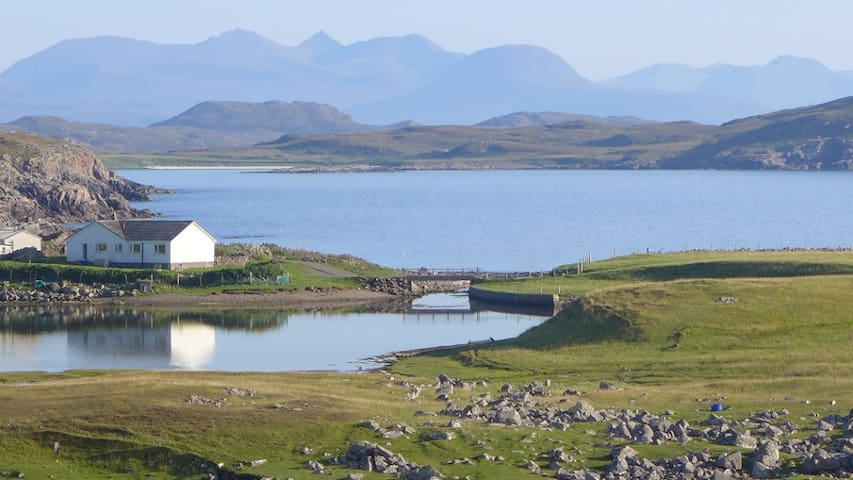 Reiff Beach Cottage (Eco Highland) - Achiltibuie - Casa