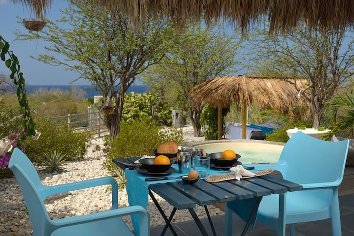Crown Villas OceanView + jacuzzi zeiltrips prive
