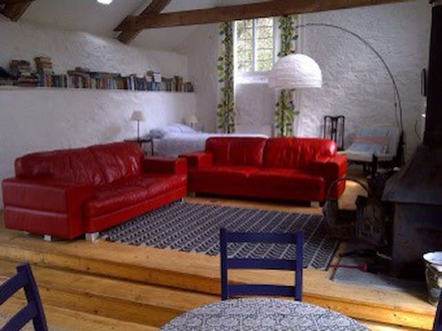 Amazing FAMILY room, detached barn - Porlock - Penzion (B&B)