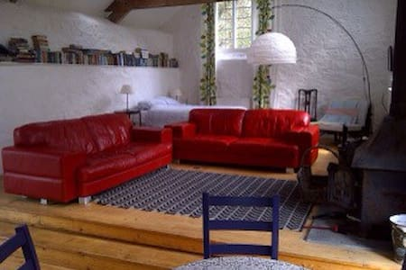 Amazing FAMILY room, detached barn - Porlock - Bed & Breakfast