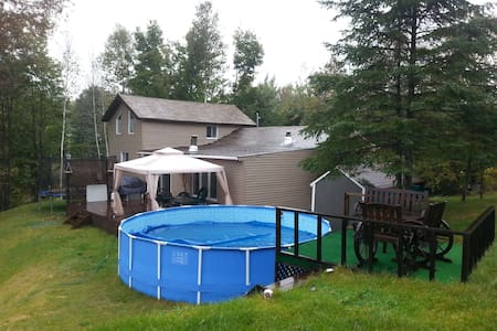 Large Chalet lake front view - Lachute - Chalet