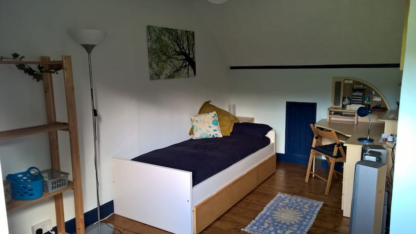 Room 2 - Large Single attic bedroom - Barry