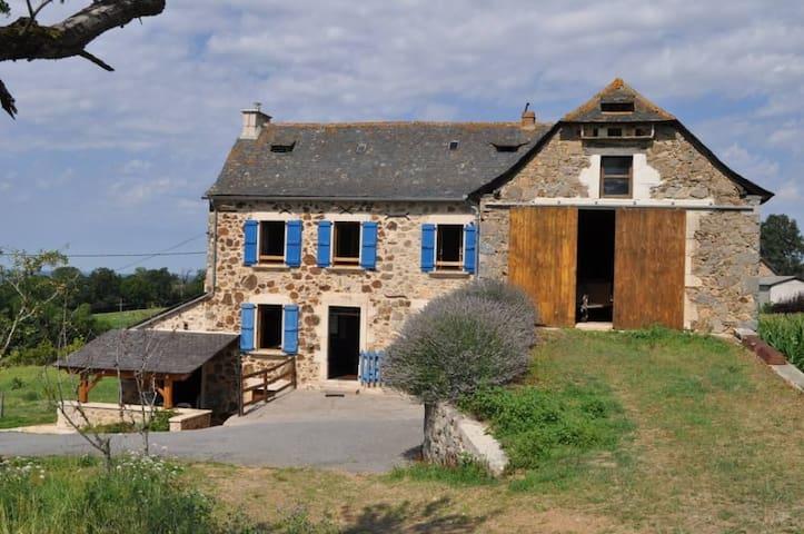 Ancien corps de ferme - Maleville - Huis