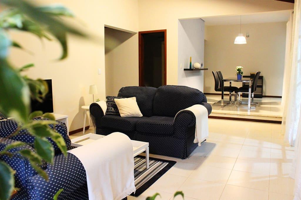 Sala de TV & Sala de Jantar