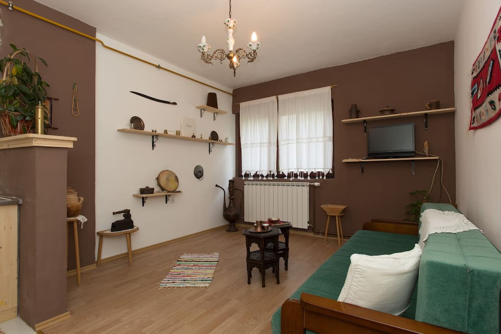 Ottoman style room with some genuine home items 200-300 yrs old