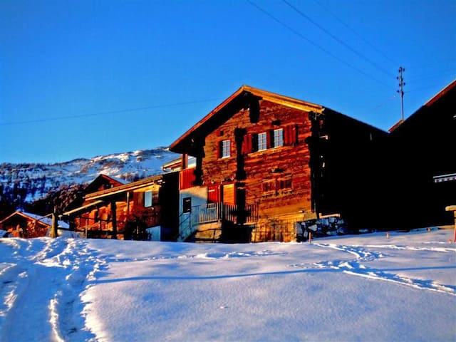 Natur - Berge - Entspannung - Pur - Wallis - Apartamento