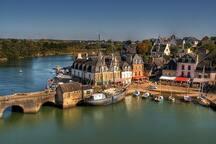 Port de Saint Goustant à 2min à pied de la Sakina.