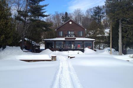 Maison bord de lac(Laurentides,QC) - Saint-Hippolyte - House