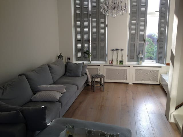 DosFlores: Lovely 2BR for 3, centre + 2 bikes - Leiden - Appartement